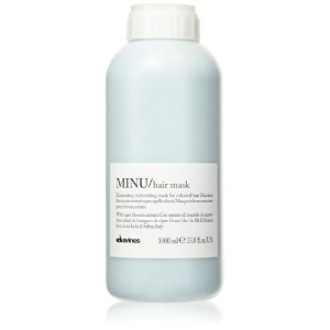 ダヴィネス Minu Pak Illuminating Replenishing Mask (For Coloured Hair) 1000ml/33.8oz並行輸入品