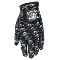 Tattoo Golf Ladies Cabretta Leather Skull Pattern Gloves【ゴルフ レディース>グローブ】