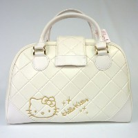 Hello Kitty Ladies White Tote Bags【ゴルフ 特価セール】