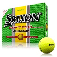 Srixon 2013 Soft Feel Tour Yellow Golf Balls【ゴルフ ボール】