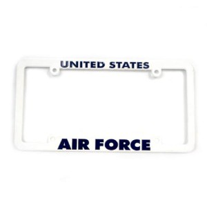 San Diego Gift Air Force Military Plastic License Plate Frames【ゴルフ その他のアクセサリー>ホーム/オフィス】