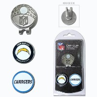 NFL Cap Clip w/ Magnetic 2 Ball Markers【ゴルフ その他のアクセサリー>ディボットツール】