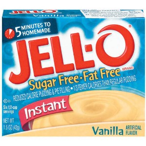 Jell-O Instant Vanilla Pudding  Pie Filling 1.5 oz