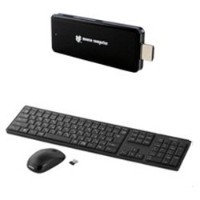 MouseComputer デスクトップPC Stick PC K/B&Mouse SET (モニターなし) MS-NH1-BSET