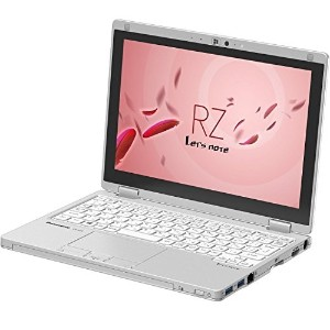パナソニック Let's Note CF-RZ4ADACS (Intel CoreM-5Y70 vPro/4GB/SSD128GB/Windows7 Pro 32bit/MS Officeなし/10...