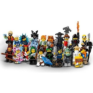 LEGO NinjagoのムービーCollectible Minifigures – Completeセットof 20ミニフィギュアSealed ( 71019 )