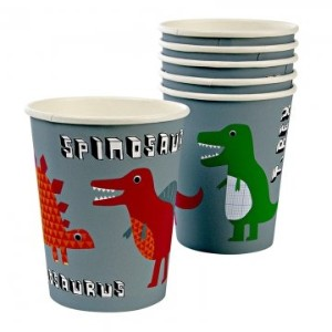 Dinosaur Roarrrr Party Cups - Pack of 8