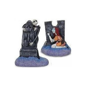 Nightmare BeforeクリスマスJack and Sally Salt & Pepper Shakers