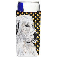 GREAT PYRENEES Candy Corn Halloween Ultra Beverage Insulators forスリム缶sc9666muk