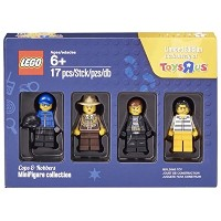 LEGO Minifigure Collection 4 Pack - Cops and Robbers  トイザらス限定