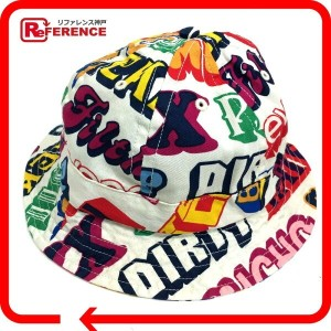 HYSTERIC GLAMOUR ヒステリックグラマー 17FW Supreme HYSTERIC GLAMOUR text bell hat テキスト ベル ハット シュプリーム...