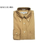 INDIVIDUALIZED SHIRTS(インディビジュアライズド シャツ)/L/S STANDARD FIT B.D. CAMBRIDGE OXFORD SHIRTS/beige