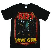 Kiss / Love Gun Tee (Black)