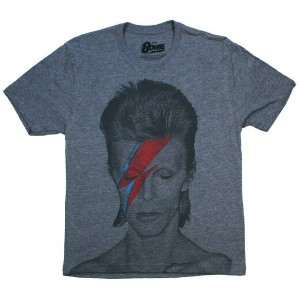 David Bowie / Aladdin Sane Tee (Heather Grey)