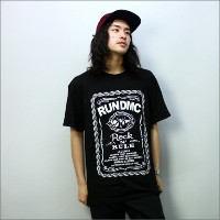 ◎RUN DMC Tシャツ ROCK AND RULE WHISKEY LABEL 黒