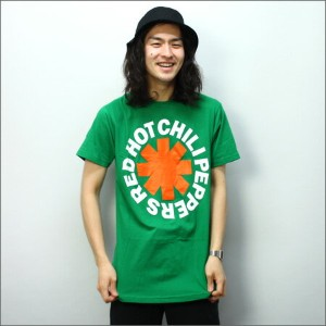 ◎◎Red Hot Chili Peppers Tシャツ ASTERISK IRISH グリーン (レッチリ)