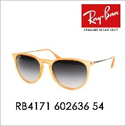 【OUTLET★SALE】レイバン エリカ サングラス RB4171 602636 54 Ray-Ban 伊達メガネ 眼鏡 ERIKA
