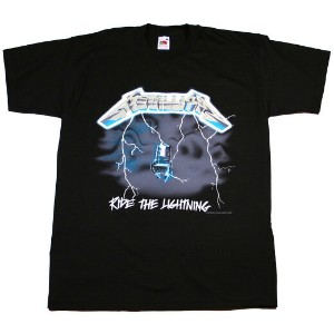 Metallica / Ride The Lightning Tee (Black)