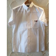 (SALE)SOFTMACHINE ソフトマシーン /CHESTER SHIRTS S/S WHITE