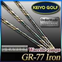 Gravity Golf Waccine compo(ワクチンコンポ) GR-77 Ironシャフト