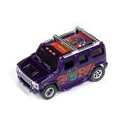 AW Hummer H2 (Purple) Rat Fink R10 HOスロットカー
