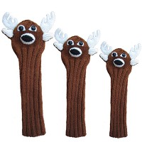 Sunfish Animal Headcover Collection Deer Headcovers【ゴルフ アクセサリー>ヘッドカバー】