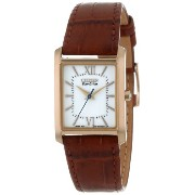 Citizen シチズン レディース腕時計 Women's EP5918-06A Eco-Drive Brown Leather Dress Watch