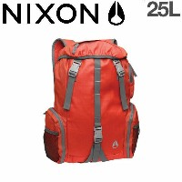 【NIXON】ニクソン2014春夏/WATERLOCK II BACKPACK バックパック リュックサック バッグ/RedPepper-Chacoal【あす楽対応】