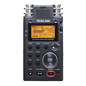 TASCAM 24bit/96kHz対応 リニアPCM/ICレコーダー DR-100mkII 2-Channel Portable Digital Recorder