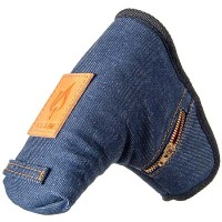 Rose & Fire Denim w/zipper fly Putter Headcovers【ゴルフ アクセサリー>ヘッドカバー】