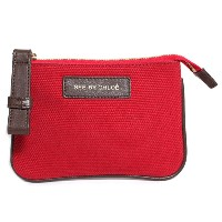 SEE BY CHLOE シーバイクロエ TROUSSE 財布 ポーチ カードホルダー付 LILIAS ロゴ 9P7386 P45 A17 FUXIA レッド