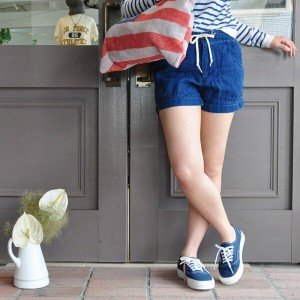 orSlow(オアスロウ) / FATIGUE EASY SHORTS (INDIGO)
