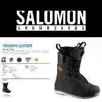 14-15 SALOMON TRIUMPH LEATHER/14-15 TRIUMPH LEATHER/14-15 トライアンフ レザー/14-15 SALOMON/14-15 サロモン...