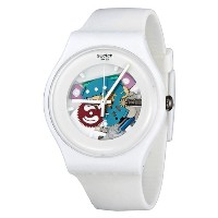 Swatch スウォッチ レディース腕時計 White Lacquered Ladies Watch SUOW100