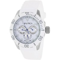 Nautica ノーティカ 男女兼用腕時計 Unisex N13639G NSR 101 Multi- South Beach Classic Analog with Enamel Bezel Watch