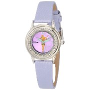 Disney ディズニー ティンカーベル レディース腕時計 Women's TK1008 Tinkerbell Purple Sunray Dial Purple Strap Watch