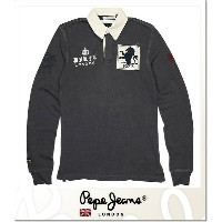 PEPE JEANS LONDON HUGOS (LS:POLO)(PM540237-977)