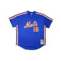 MITCHELL&NESS AUTHENTIC MESH BP JERSEY (Dwight Gooden/No.16/New York Mets 1987: Blue)ミッチェル&ネス...