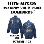 "TOYS McCOY (トイズマッコイ)10oz DENIM UTILITY JACKET ""DOERBIRDS""TMJ1402-14SS「P」"