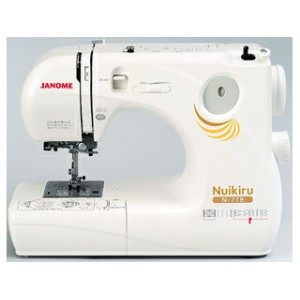 JANOME/ジャノメミシン N−778 《ヌイキル》