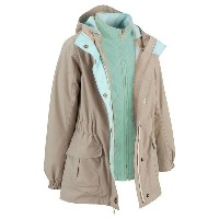 Quechua(ケシュア) KUTUNA 3WAY JACKET GIRL 10歳 BEIGE 8284123-1711456