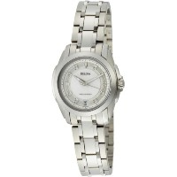 Bulova ブローバ レディース腕時計 Women's 96P115 Precisionist Longwood Diamond MOP Dial Steel Bracelet Watch