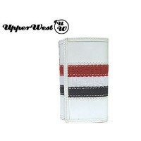 [cpa][c:0][b:8][s:0.16]【nightsale】 UPPER WEST/アッパーウエスト キーケース WOVEN KEY CASE (TRICOLORE)