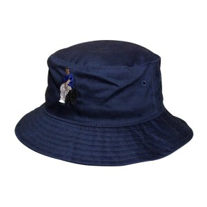 THE M.O.C BRAND BUCKET HAT (#MAYBESHEWHEEL: Navy)バケット ハット/紺【ポイント10倍!】