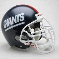NFL ジャイアンツ ヘルメット 81-99 w/ZLT Facemask リデル/Riddell Throwback Authentic On-Field Helmet