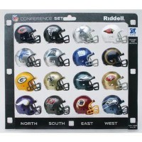 NFL NFC Mini Replica ヘルメットConference Set Riddell
