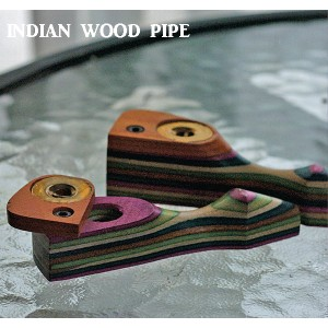 INDIAN WOOD PIPE