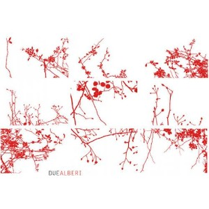 DUEALBERI   RED CHRISTMAS CARDS SET   カードセット