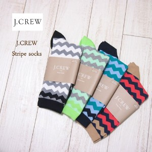 SPECIAL PRICE♪【SALE】【J.CREW】ジェイクルー デザイン ボーダーソックス/4色 【あす楽対応】メール便可