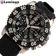 LUMINOX/ルミノックス3181 ブラック(ラバーベルト) SWISS QUARTZ/NAVY SEALS STEELCOLORMARK CHRONOGRAPH 3180 SERIES T25表記あり ...